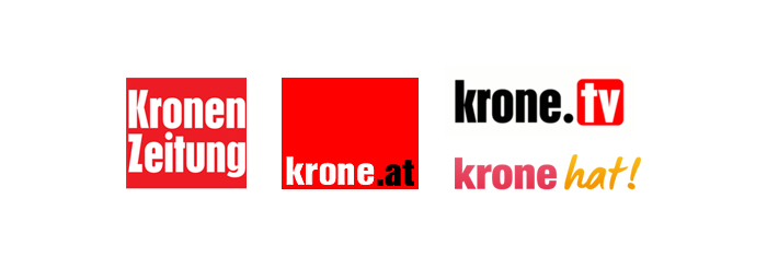 Portfolio: Krone Multimedia, krone.at, krone.tv, Kronen Zeitung