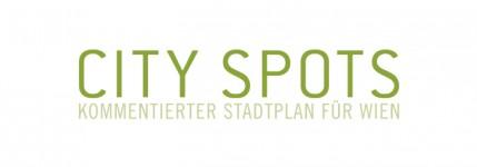 Portfolio: CITY SPOTS, kommentierter Stadtplan für Wien
