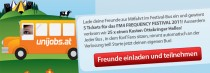 Blog: Unijobs Facebook-Festivalbus Launch