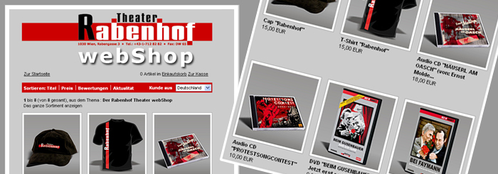 Blog: Rabenhof-Merchandising-Shop Launch