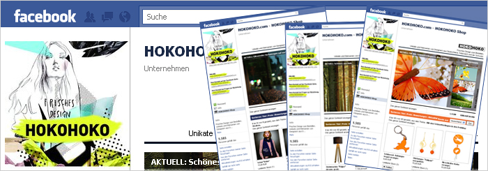 Blog: HOKOHOKO-Shop in Facebook