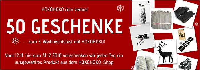 Blog: HOKOHOKO Facebook-Gewinnspiel im Advent