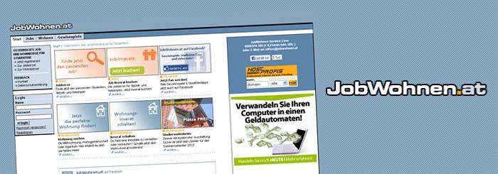 Blog: Jobwohnen.at, Übernahme, Migration und Betrieb