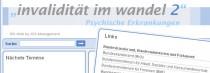 Blog: Invalidität im Wandel 2 | Relaunch der Plattform