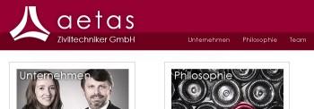 Blog: Ateas Ziviltechniker GmbH, neue Webseite aetas.at