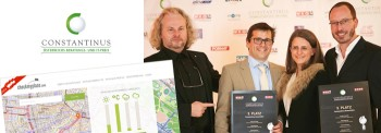 """Blog: Checkmyplace.com, Constantinus 2014, 3. Platz """"Kommunikation und Netzwerke"""""""