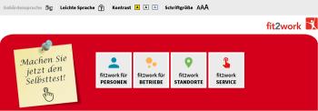 Blog: Fit2Work | Plattform-Relaunch
